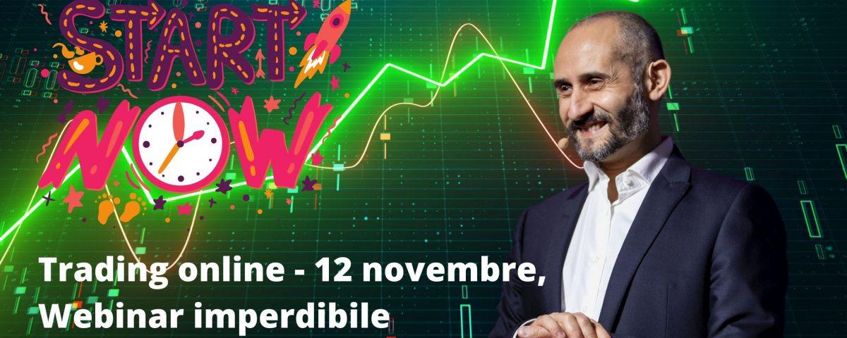 Trading online - 12 novembre, Webinar imperdibile , maxx mereghetti