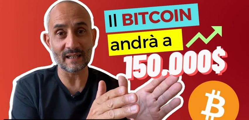 Il Bitcoin andrà a 150.000 dollari ?